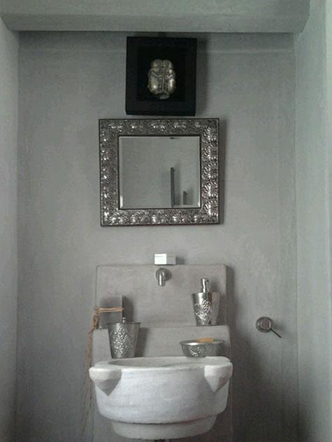 progetto bagno in tadelakt