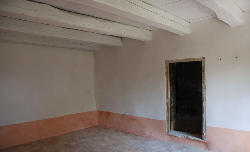 pareti con intonaco a calce