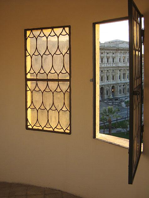 restauro interni chiesa valdese di Roma