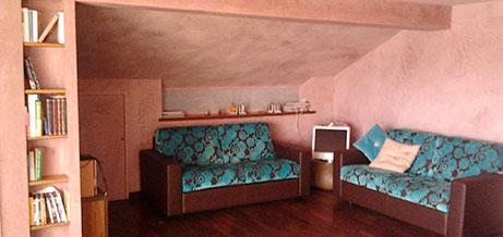 ristrutturare casa con intonaci e finiture a base di calce aumenta il benessere abitativo