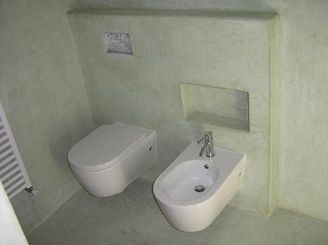 Bagni in tadelakt. Ristrutturazione pavimenti e rivestimenti bagno