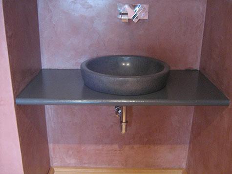 Rivestimenti bagno in grassello di calce